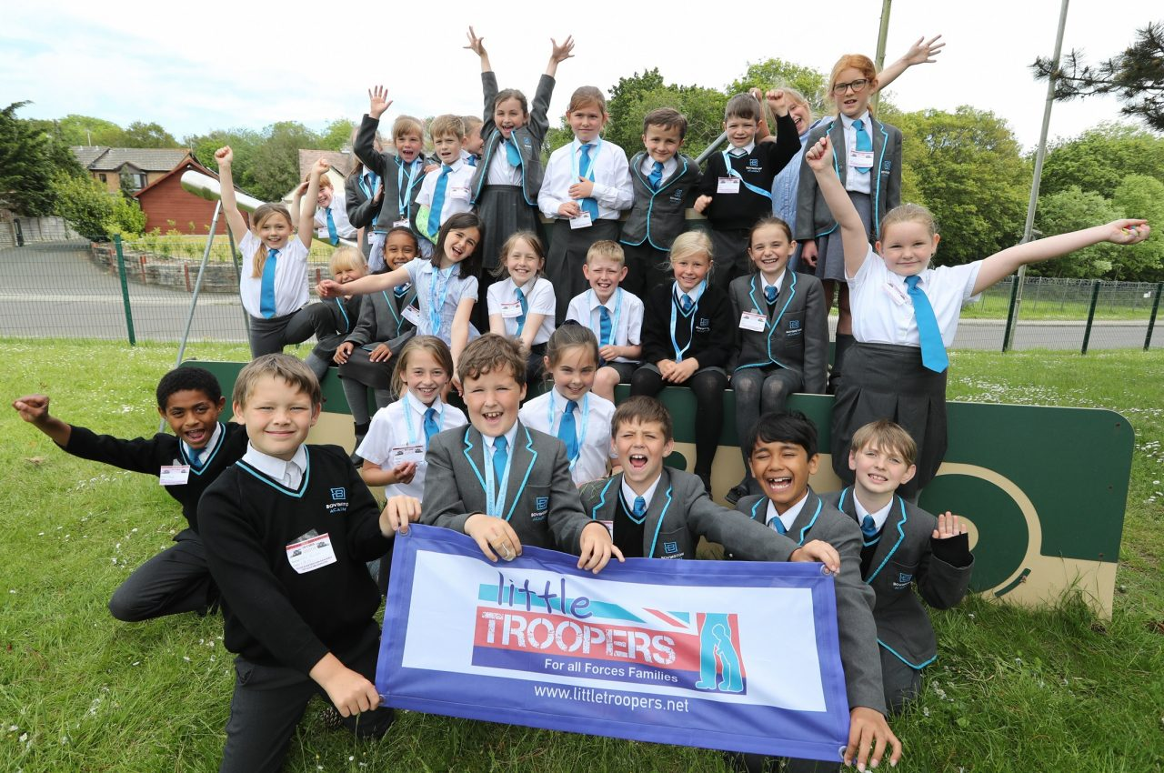 3,400 military children take part in charity workshop