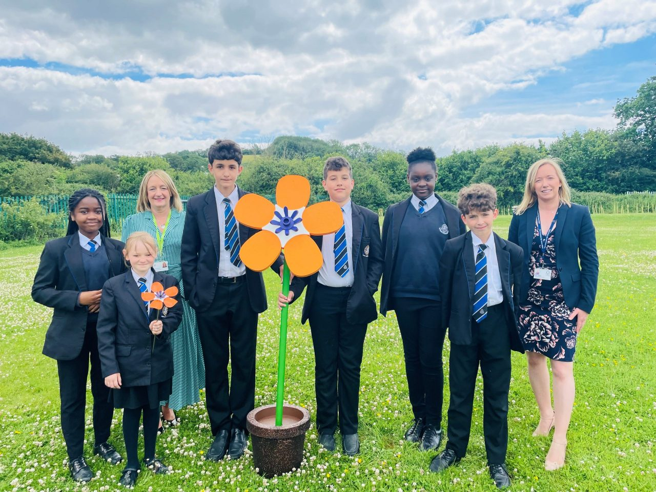 School to remember lost loved ones with Forever Flowers garden