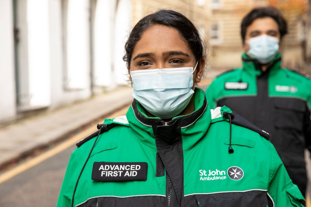 St John Ambulancerises to the challenge of the pandemic