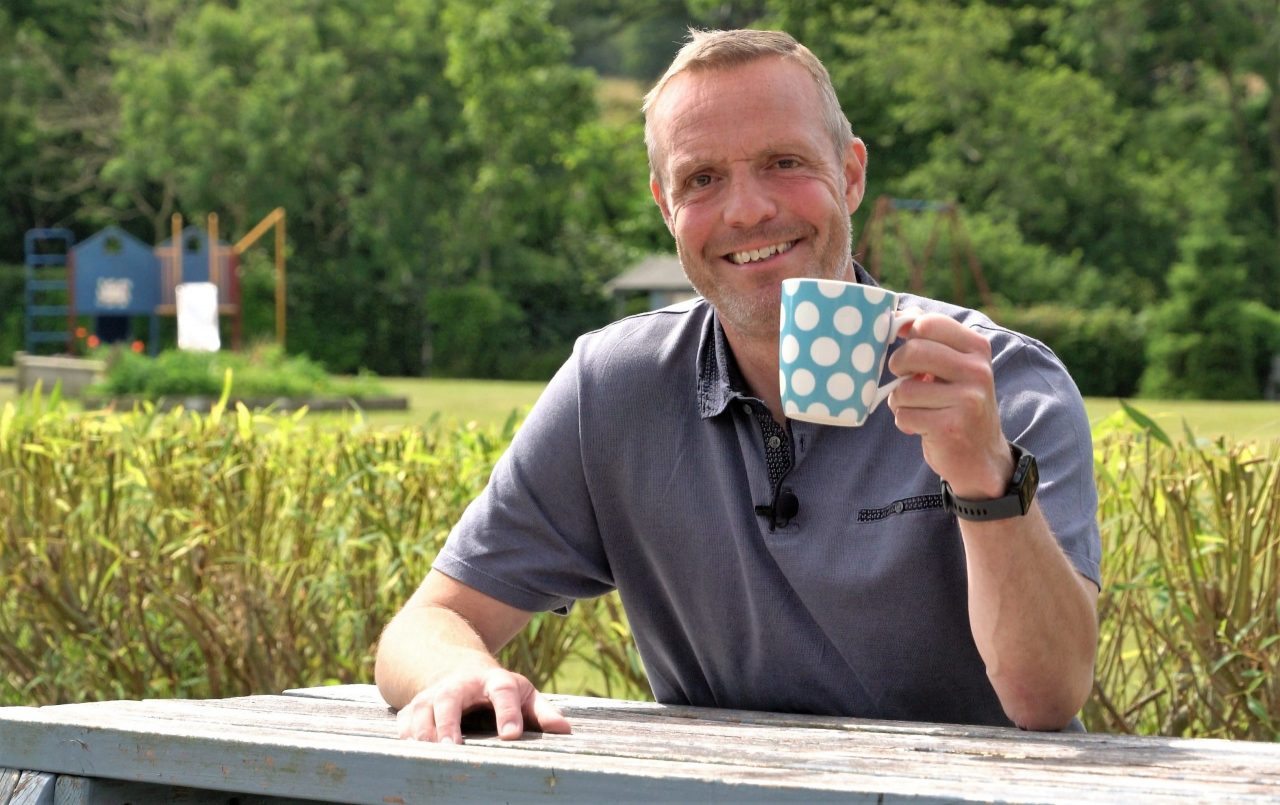 Super-fit headteacher survives 'terrifying' aneurysm to back campaign for rural heart service
