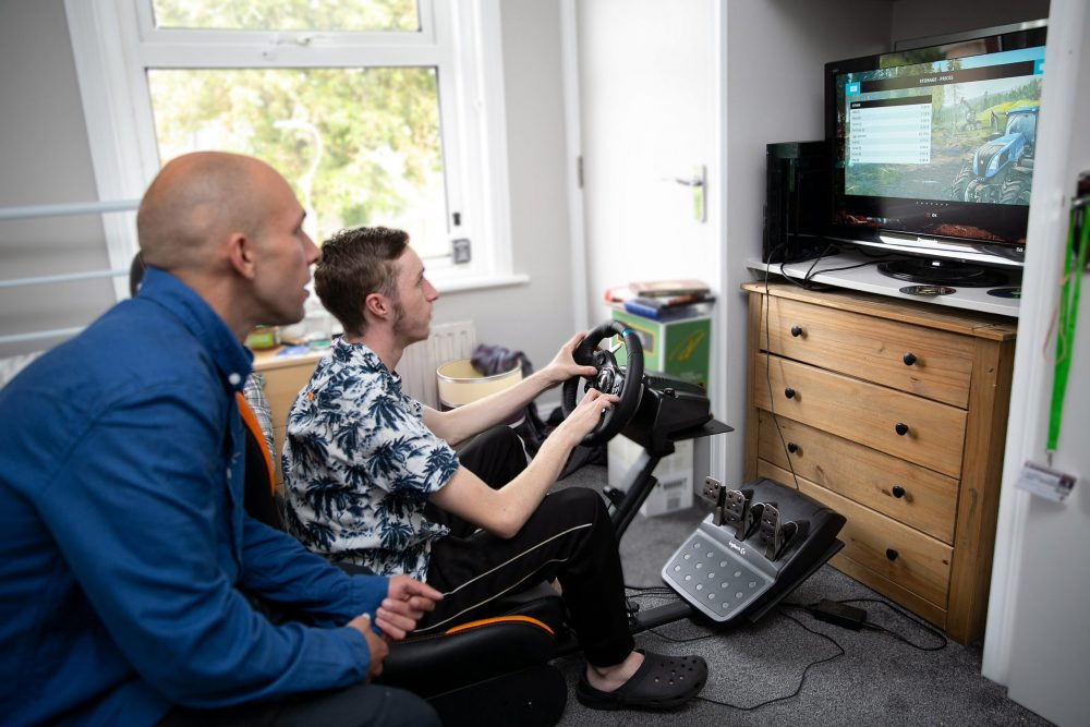 Adults with autism enjoy independent home of their own