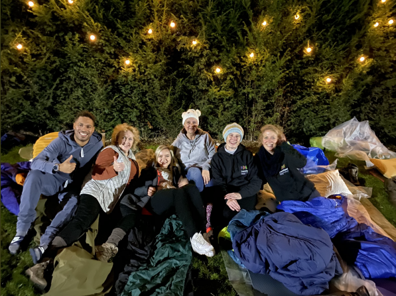 Big Sleep Out at home to help local people facing pandemic-related homelessness