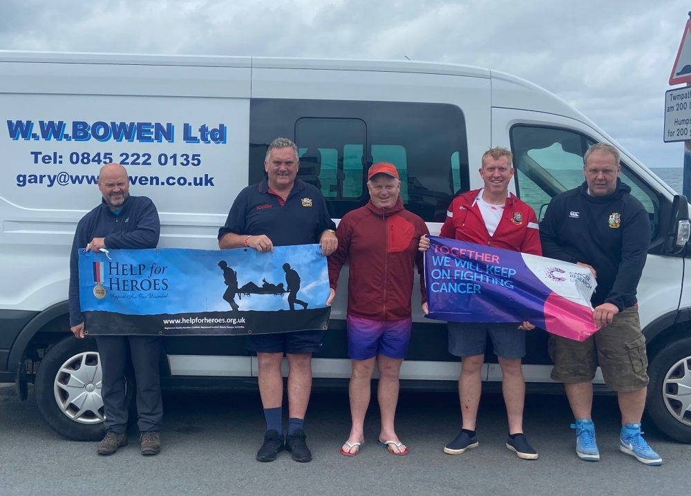Fundraiser peaks with completion of five-mountain challenge