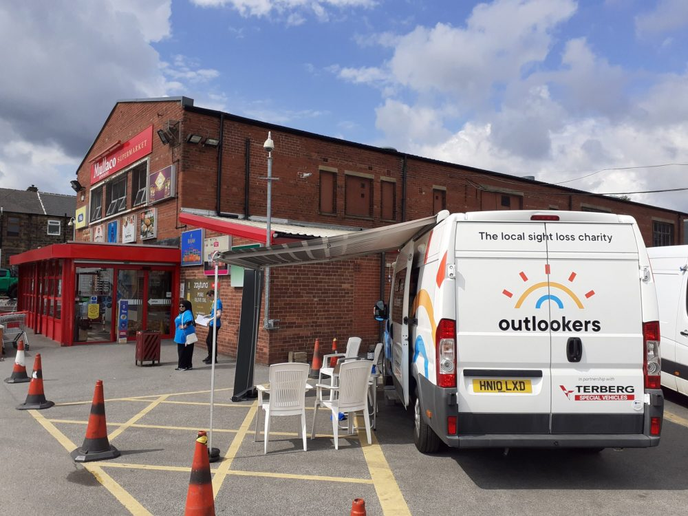 Local charity announces roadshow for mobile sight loss unit