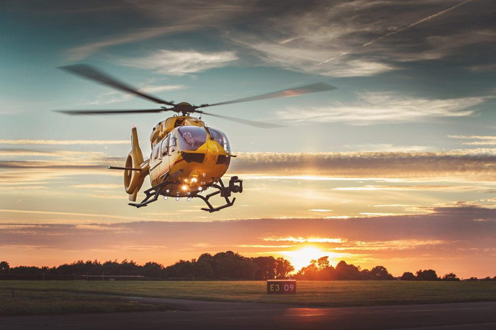 Air ambulance reveals July was busiest month in over four years