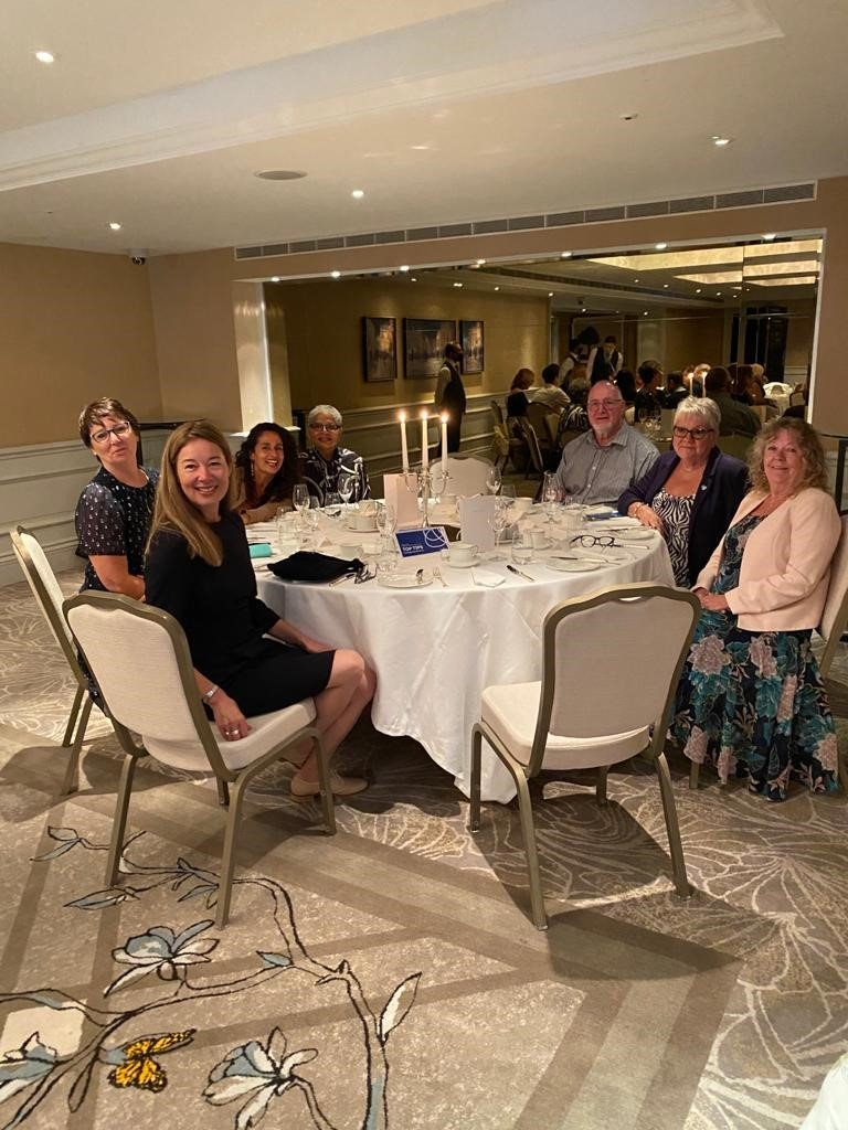 Young Onset Dementia group enjoys tea with Sherlock star