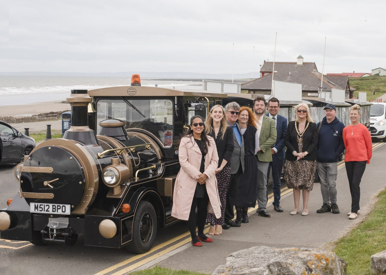 Homelessness charity celebrates official opening of land train social enterprise