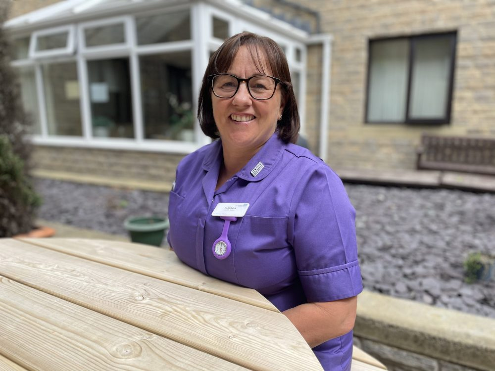 Matron becomes charity's first ever Doorstep Hero in campaign to honour pandemic sacrifices