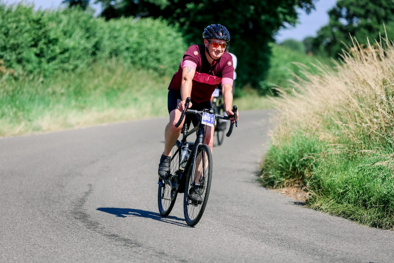 Hospice cycle sportive raises over £58,000