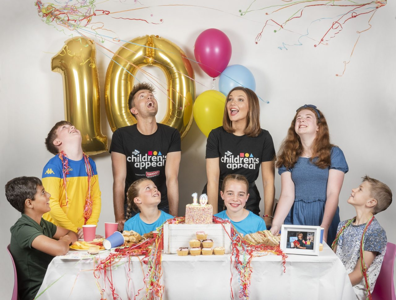 Stars mark STV Children's Appeal's 10th birthday by taking on variety of ten-themed challenges