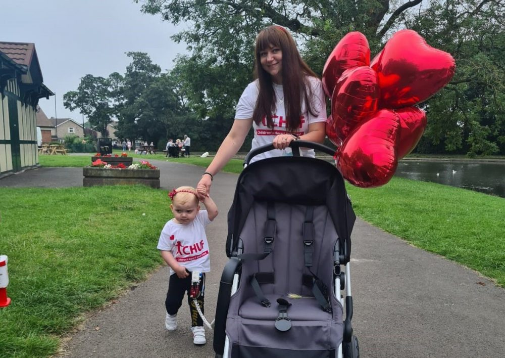 Child hero puts her heart into raising funds for children's charity