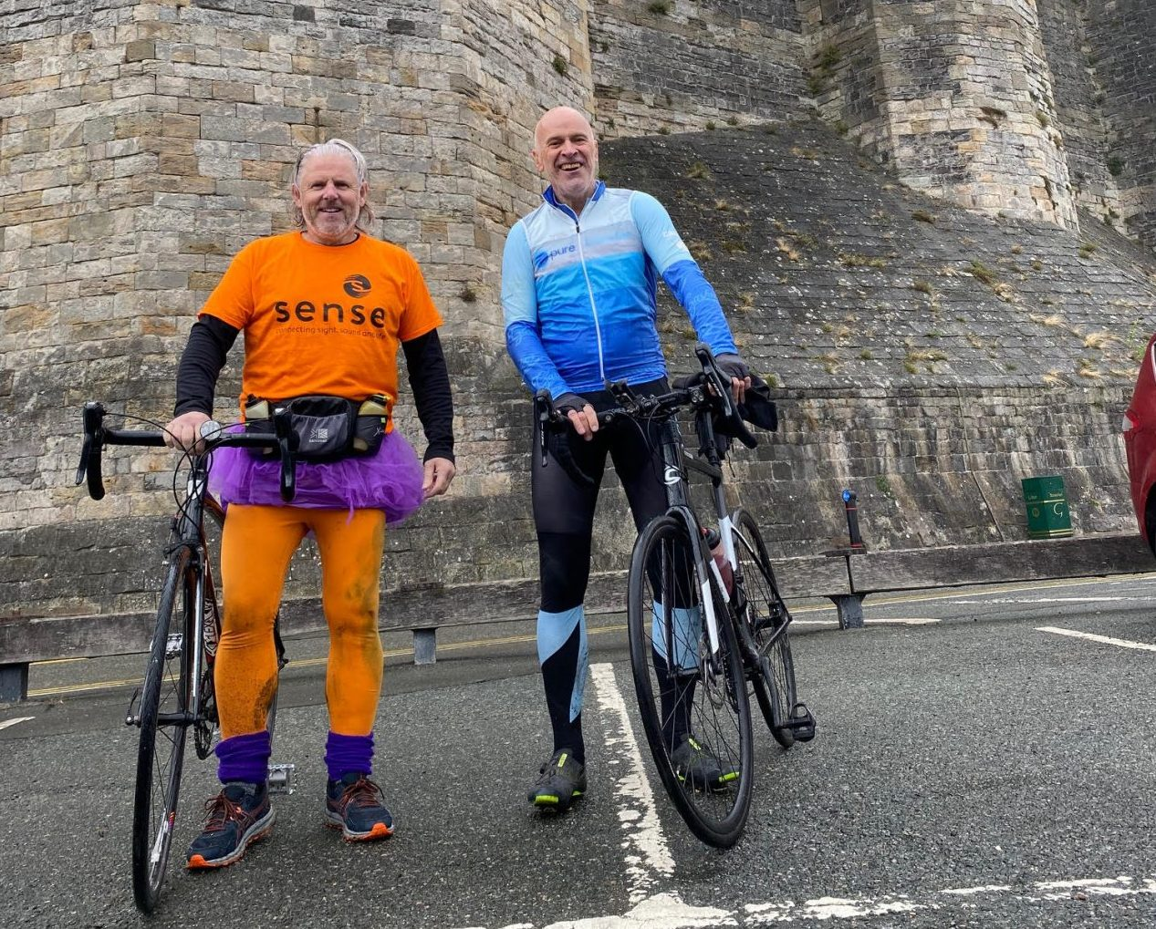 Fearless charity ambassador receives anonymous donation for his 'senseless' challenge