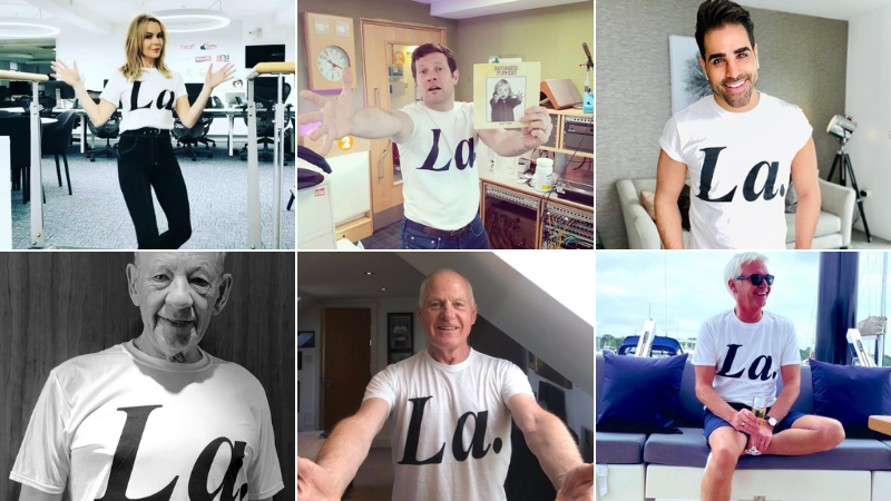 Philip Normal's charity t-shirt hits £500k for Terrence Higgins Trust with celeb support
