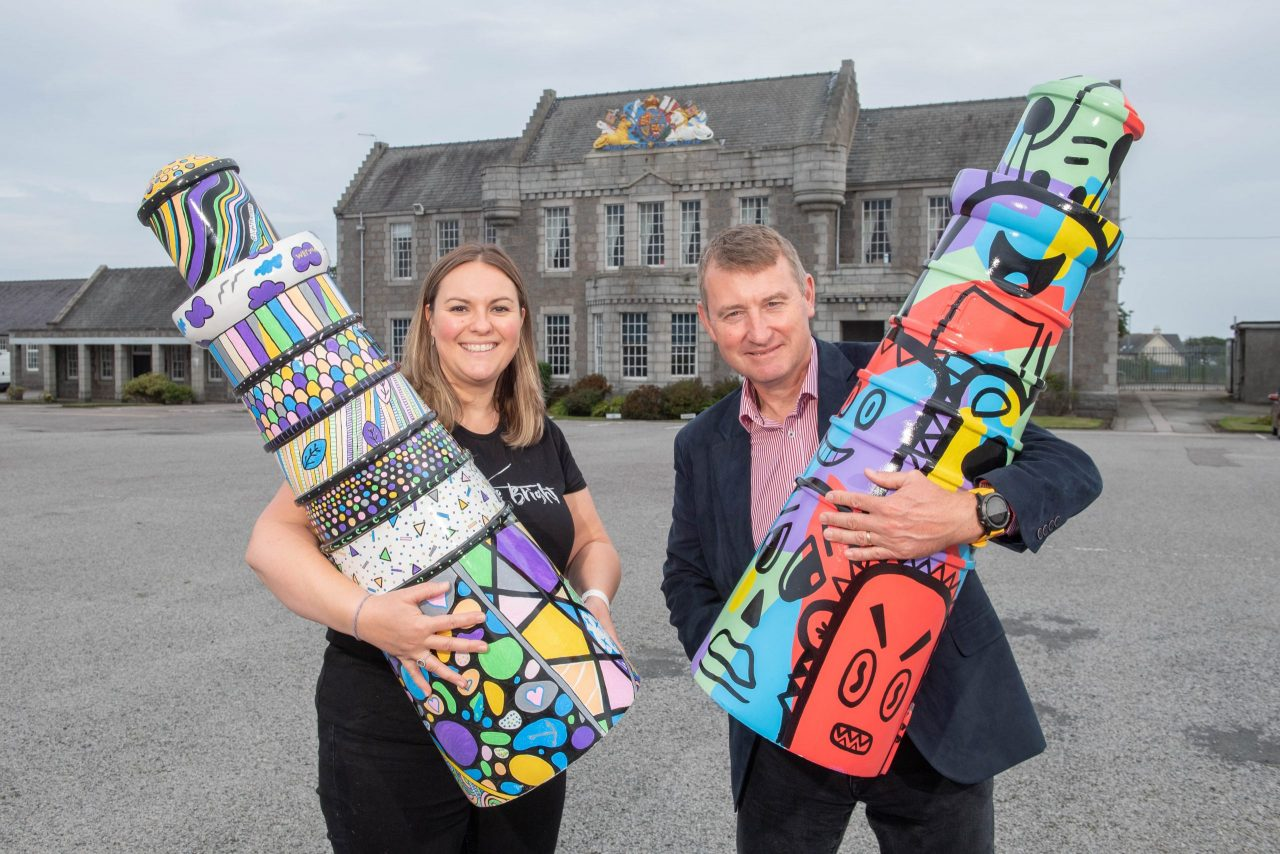 North-East given the opportunity to bid a fond farewell to the 'Light the North' Lighthouse Trail