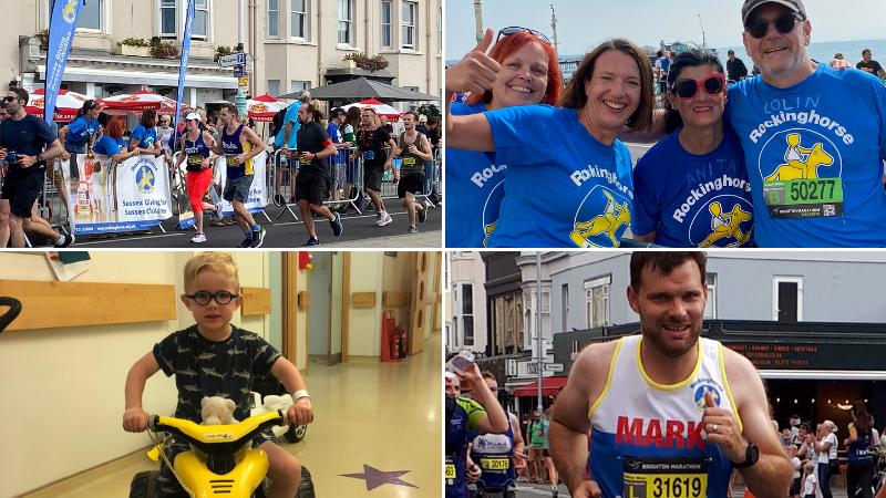 Brighton Marathon helps raise thousands of pounds for Rockinghorse children's charity