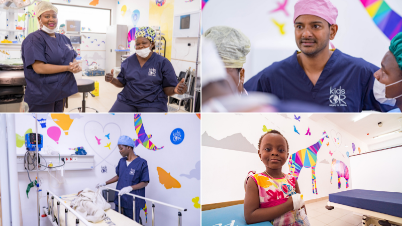 Charity's child surgery work creates £1bn of economic benefit