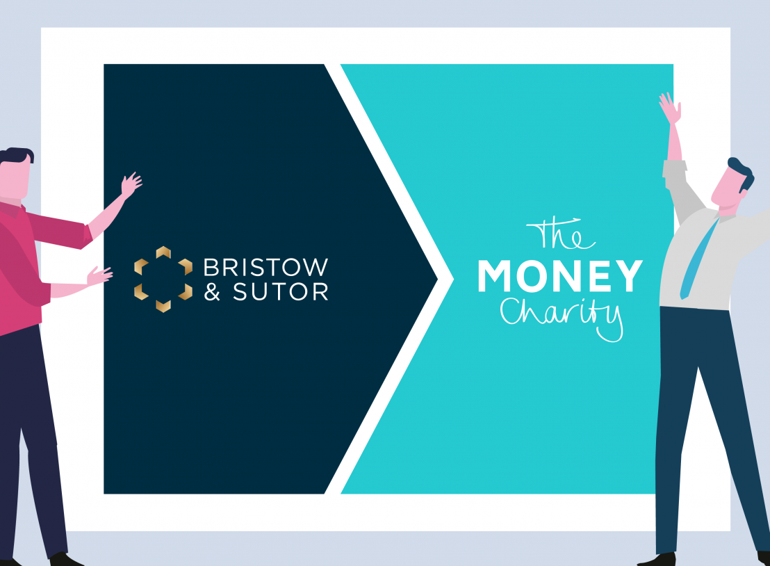 Bristow & Sutor donate funds and support to The Money Charity