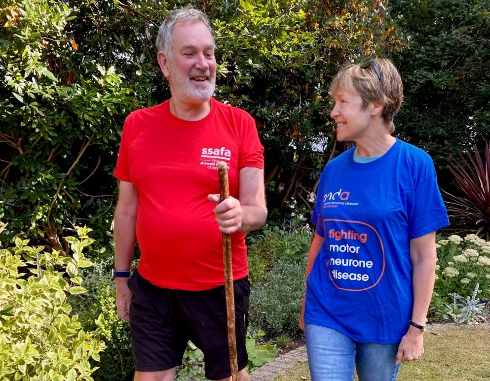 Join the Salisbury 100km Challenge this month for SSAFA and the MND Association
