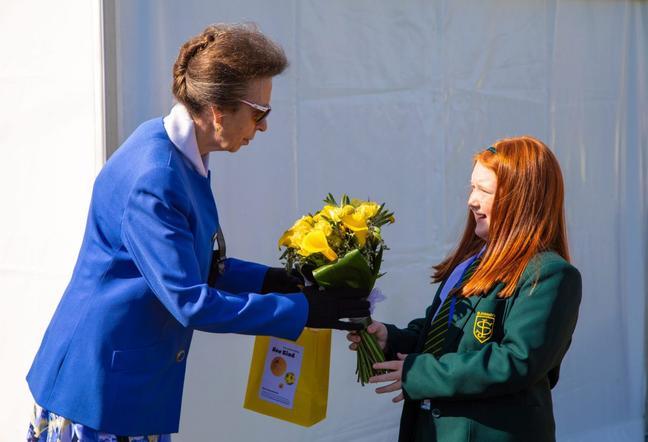 Royal visit celebrates amazing foodbank project