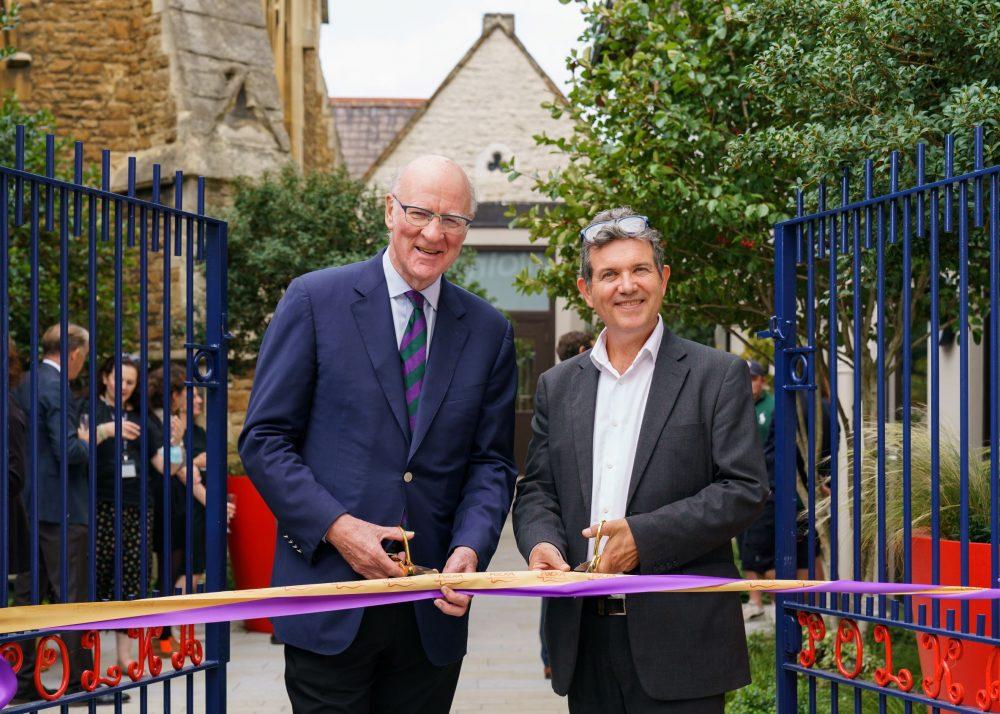 Wimbledon Foundation Garden opens at Polka Theatre