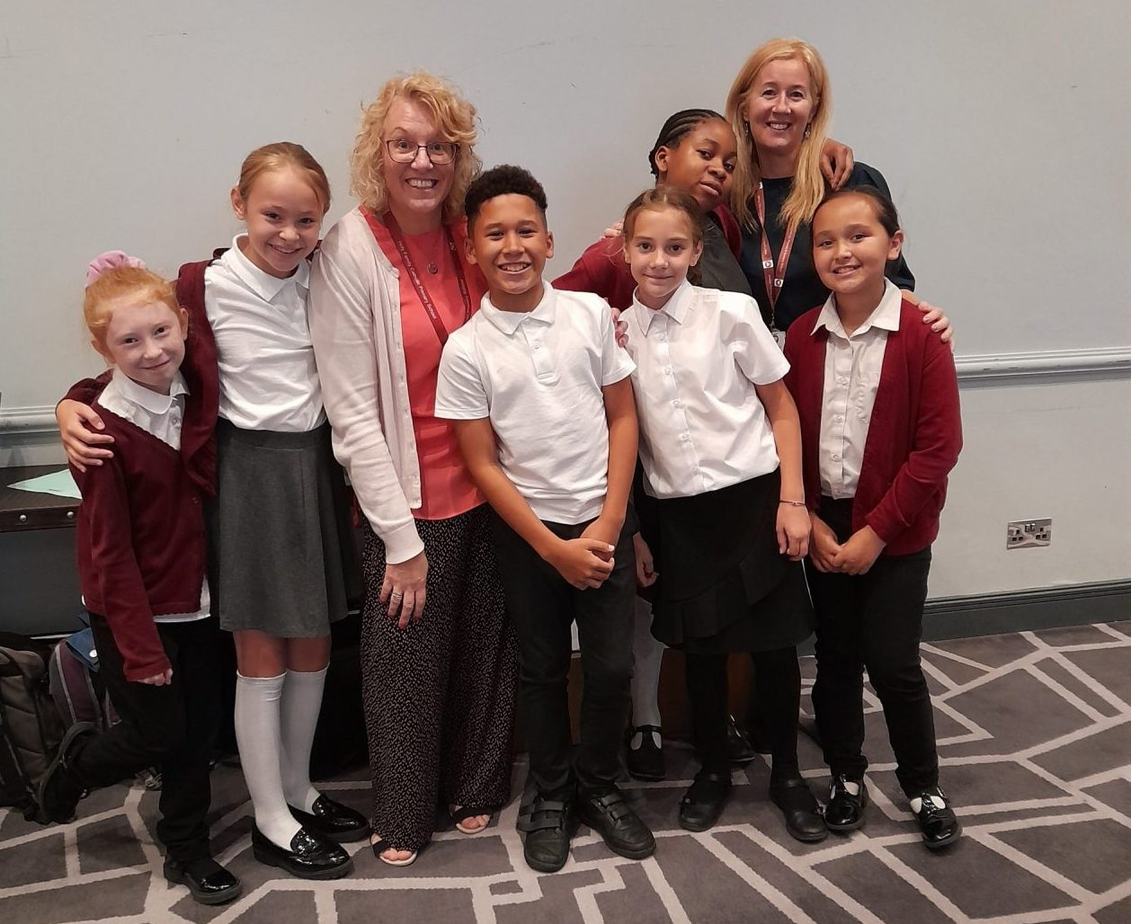 Young carers and school staff recognised at fun-filled awards ceremony