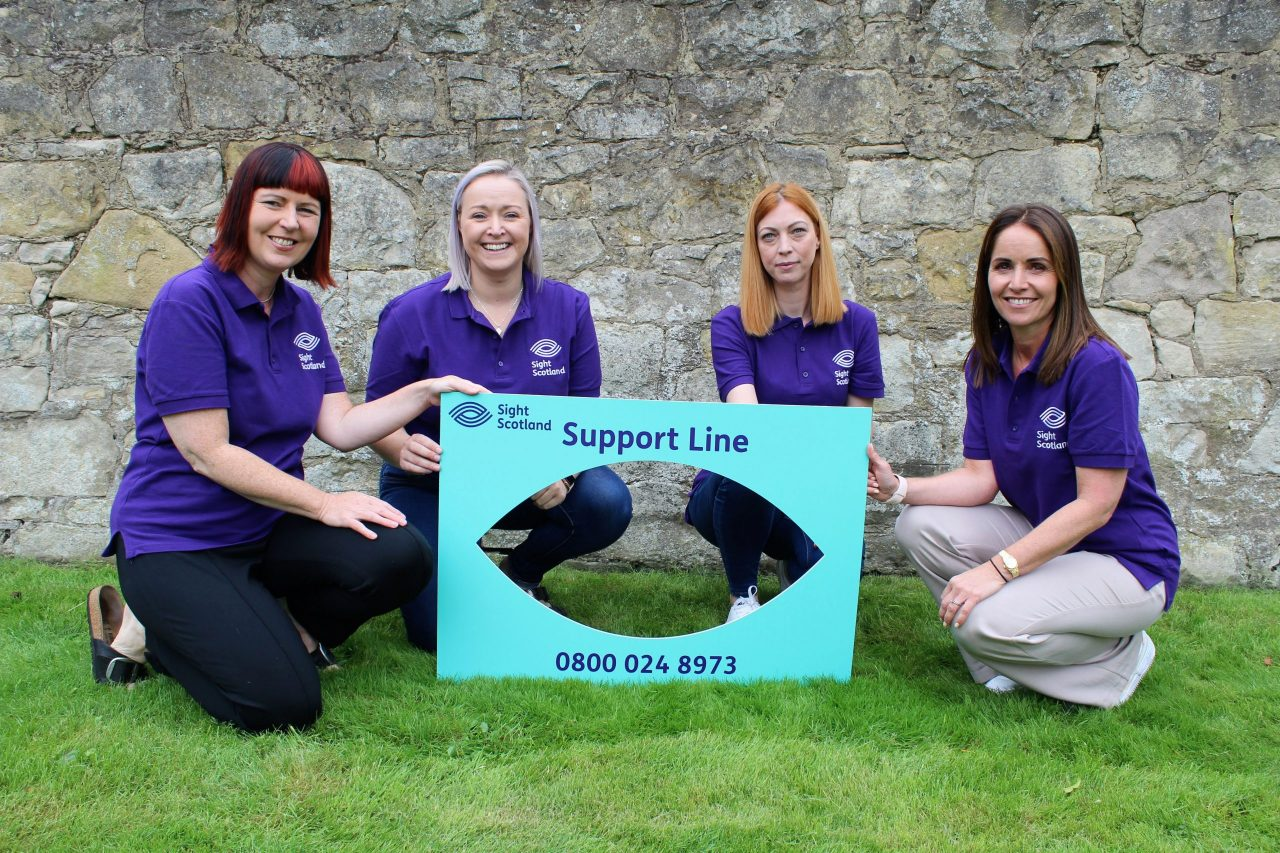 New helpline to offer support to thousands of Scots with sight loss