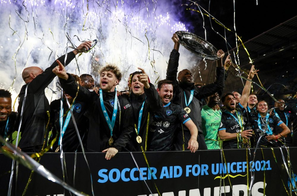 It's a record-breaking year for Soccer Aid for UNICEF 2021!
