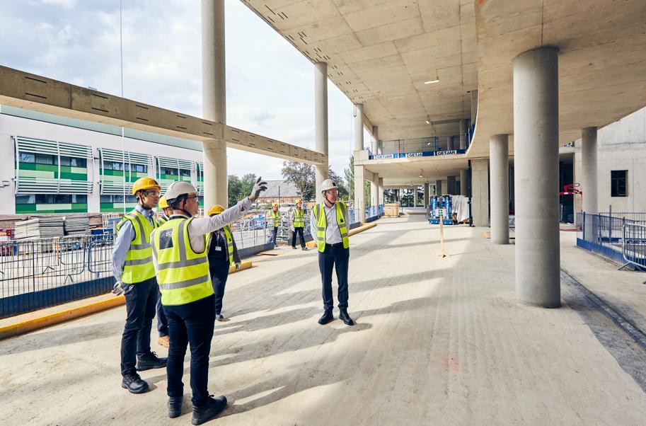 London's new world-class cancer centre reaches construction milestone