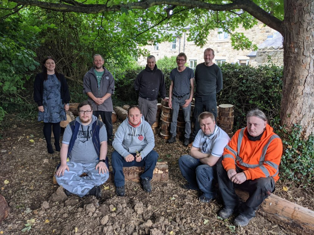 Mental health charity helps raise forest school from the ashes for local primary school