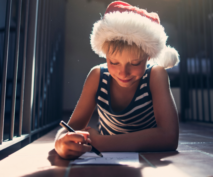 Design a charity Christmas card to help transport disabled children to rehabilitation