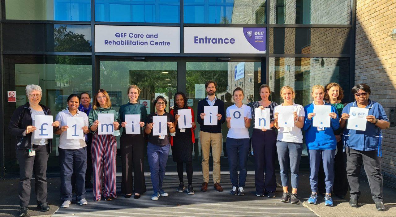 Surrey disability charity celebrates £1million milestone