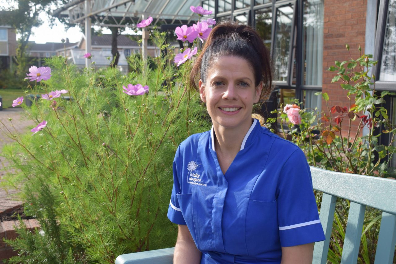 Hospice staff reflect for awareness week