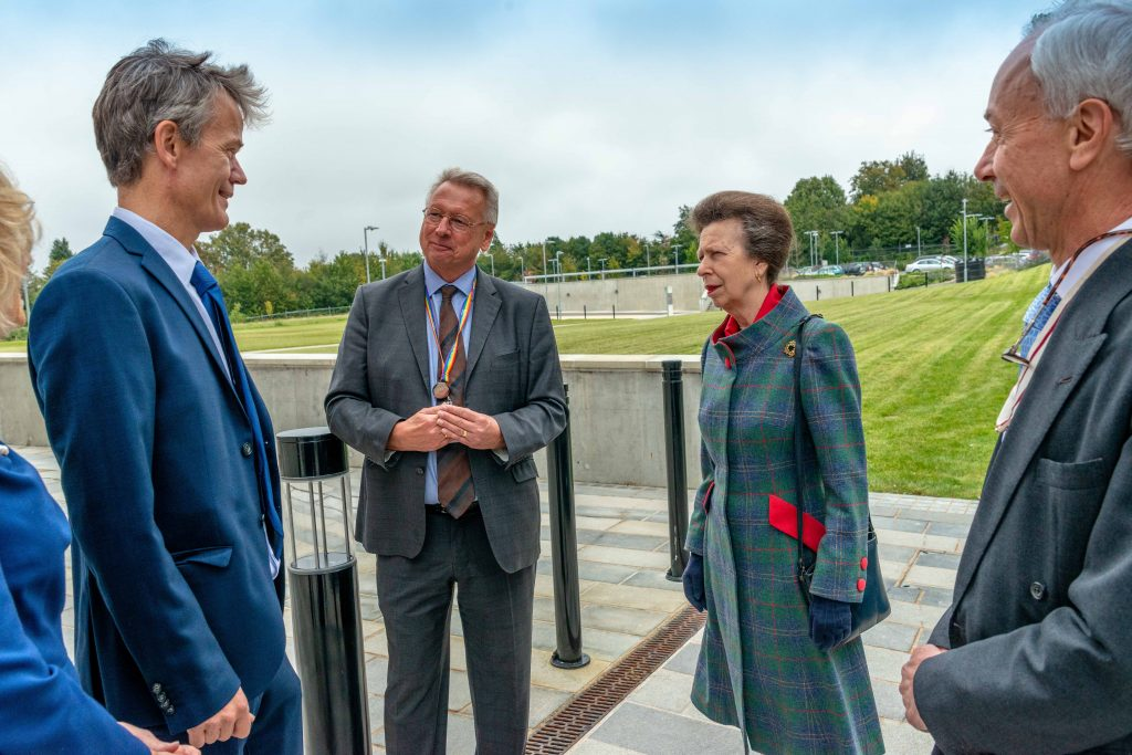 The Princess Royal officially opens pioneering centre for 'Darwinian' cancer drug discovery