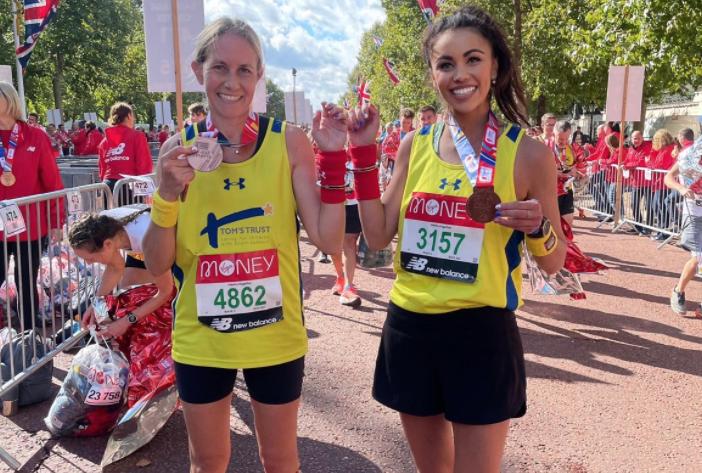 Tom's Trust's London Marathon runners set new Guinness World Record