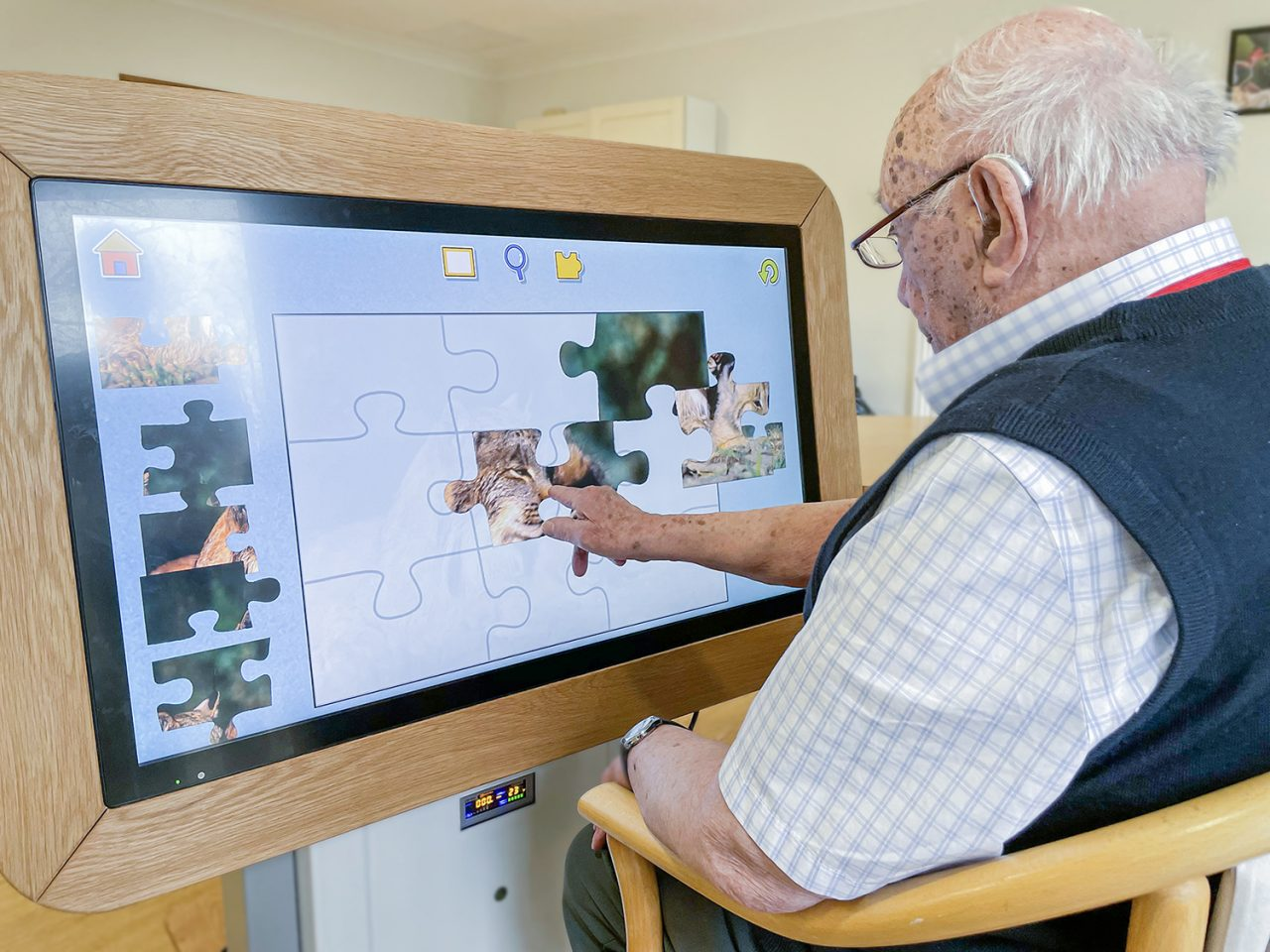 Charity engages residents with technology to stimulate, motivate and support wellbeing