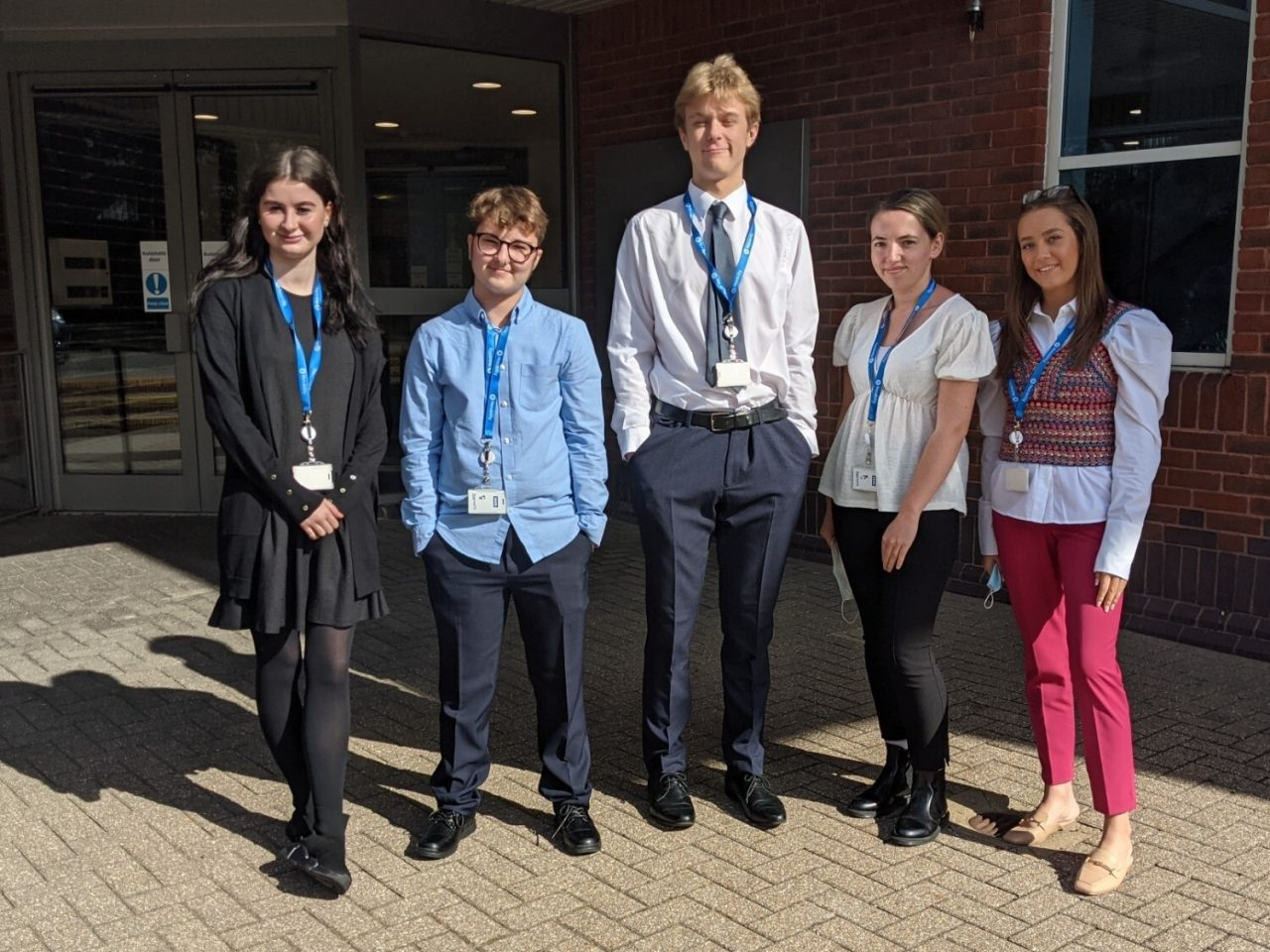 Motability welcomes five talented apprentices to the disability charity